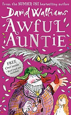 Awful Auntie, Walliams, David Book The Cheap Fast Free Post