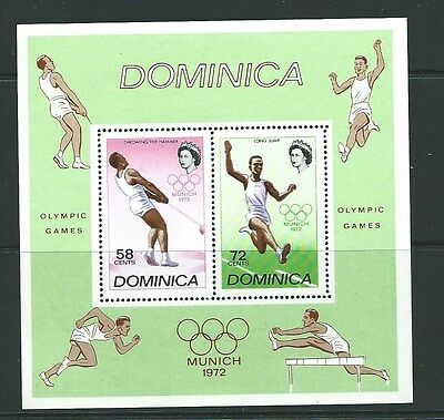 Dominica Sgms361 1972 Olympic Games  Mnh