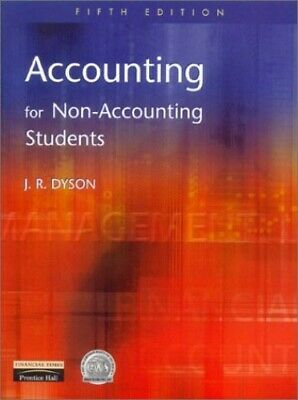 Accounting for Non-accounting Students, Dyson, J.R. Paperback Book The Cheap