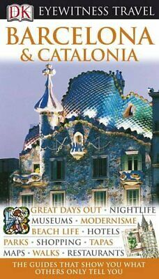 Barcelona (DK Eyewitness Travel Guide) by Williams, Roger Hardback Book The