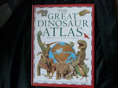 The Great Dinosaur Atlas (Picture Atlases), Lindsay, William Hardback Book The