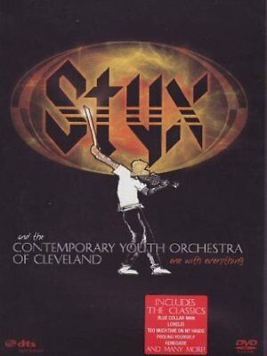 Styx - One Evening With Contemporary Youth Orchestra of Cleveland DVD NEU OVP
