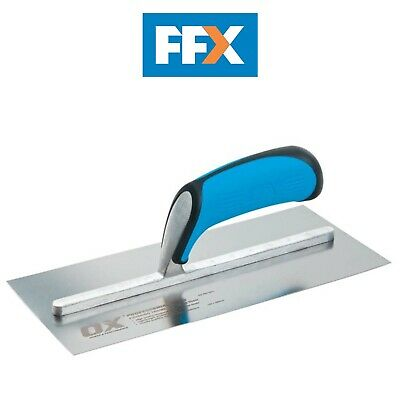 Ox Tools P011018 Pro Stainless Steel Plasterers Trowel 115 x 457mm