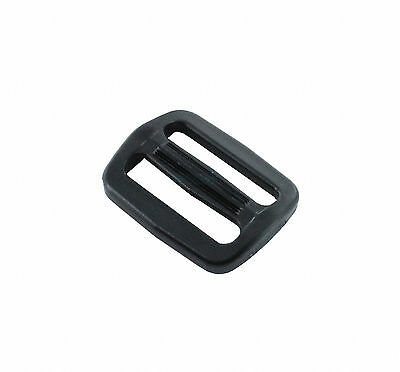 """35I-TG100 (10 Pieces) Adjustor Buckles Plastic ITW NEXUS for 1"""" (25mm) strap"""
