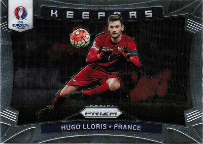 2016 PANINI PRIZM UEFA EURO SOCCER KEEPERS INSERT CARDS #1-24 U-Pick From List