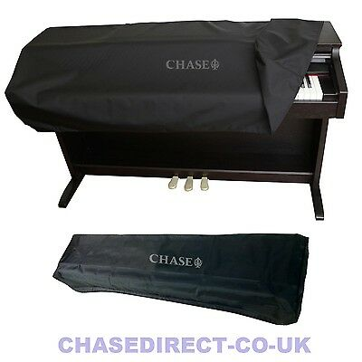 Chase Digital Piano Dust Cover For Yamaha Casio Roland Upright + Stage Keyboard