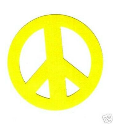 PEACE SIGN TANNING STICKER Stickers Scrapbooking Crafts