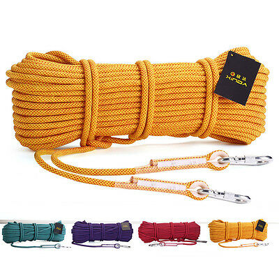 20KN 10.5mm Core Nylon Outdoor Travel Climbing Rope Caving Fast Rope Safe Rescue