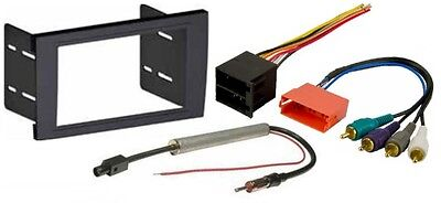 Aftermarket Double Din Radio Install Dash Kit BOSE Wire Harness Antenna