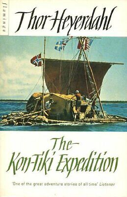 The Kon-Tiki Expedition by Heyerdahl, Thor Paperback Book The Cheap Fast Free
