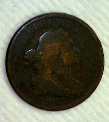 1807 Draped Bust Half Cent   (2930)