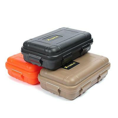 Waterproof Shockproof Outdoor Airtight Survival Container Storage Case Carry Box