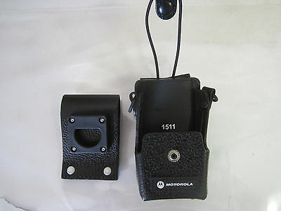 Motorola PMLN4471B Radio Leather Holster EX600-XLS, EX600 EX500, PRO7150 Elite