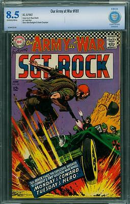 Our Army At War 181 Cbcs 8.5 - Ow/w Pages