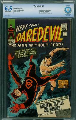 Daredevil 7 Cbcs 6.5 - Ow/w Pages