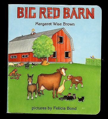 Big Red Barn - Margaret Wise Brown - NEW - MINT  Board Book - Children's Classic