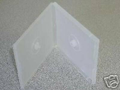 1000 Clear Double Poly Cd Case Dvd Cases - Psc34