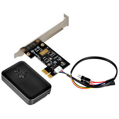 Silverstone ES01-PCIE RF Wireless PC Remote Control on/off/reset Switch Kit