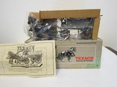 Texaco Horse & Tanker Limited Edition Collectors Series 8th #8 Never Been Opened