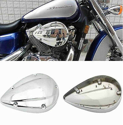 Chrome Air Cleaner Filter Cover For 2004-2012 Honda Shadow Aero VT 750C