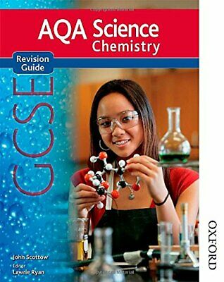 New AQA Science GCSE Chemistry Revision Guide, Scottow, John Paperback Book The