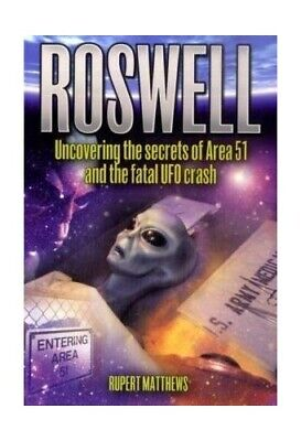 Roswell by Rupert Matthews Paperback Book The Cheap Fast Free Post