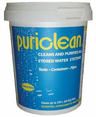 Puriclean 400G Water Purification Cleaner Treatment For Stored Water Systems