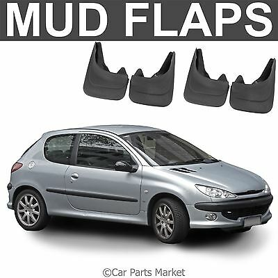 Mud Flaps Splash guard for Peugeot 206 mudguard set of 4x front and rear