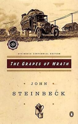 The Grapes of Wrath by John Steinbeck Paperback Book (English)