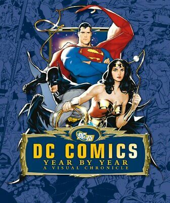 DC Comics Year by Year a Visual Chronicle (Dk) by Michael McAvennie Hardback The