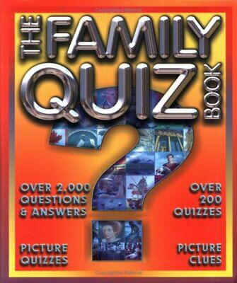 The Family Quiz Book Paperback Book The Cheap Fast Free Post