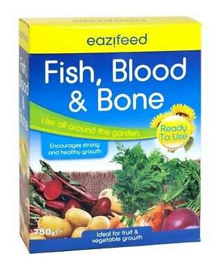 Eazifeed Fish Blood & Bone Organic Multipurpose Plant Vegetable Fertiliser 750g