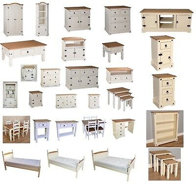 Mercers Furniture® Painted Corona lamp nest tv bookcase coffee table drawers