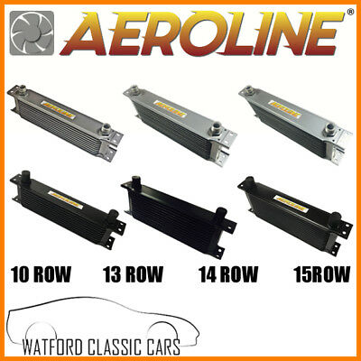 Aeroline Universal 10, 13, 14, 15 Row Oil Cooler Suitable for Classic Cars