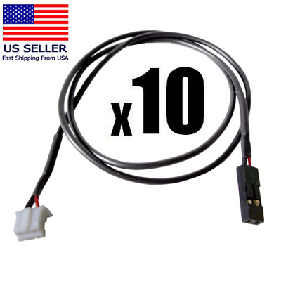 3-Pin/2-Pin SPDIF Audio Cable Video Graphics NEW