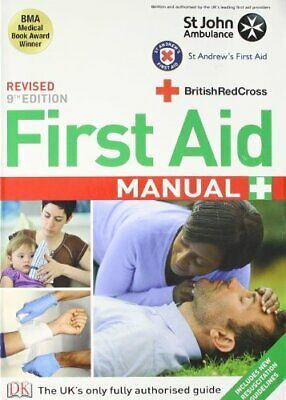 First Aid Manual by DK Hardback Book The Cheap Fast Free Post