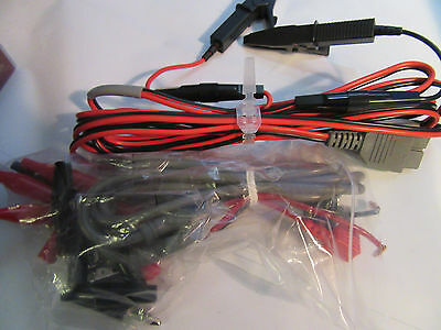 NEW Hioki Red and Black Voltage Cable Generic w/ Accessories