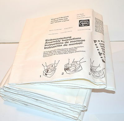 NOS FEIN Germany Box of 5 Original Filter Dust Vacuum Bags 31322190014 #WR72A71