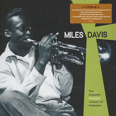 Miles Davis - The Complete Prestige 10 In (Vinyl Box Set - 2016 - EU - Original)