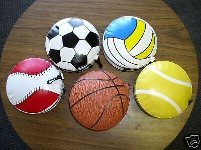 20 Sports Cd Wallets - Holds 24 Cds Each - Sports