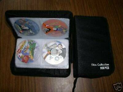 10 CD WALLETS THAT HOLD 108 CDS each  - JS35