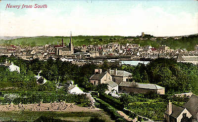 Newry from South by Valentine's # 17608.