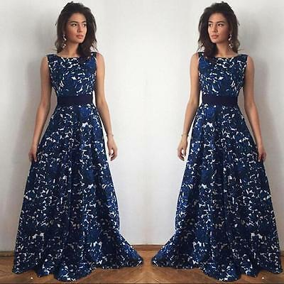 Womens Long Formal Prom Dress Cocktail Party Ball Gown Evening Wedding Dress New