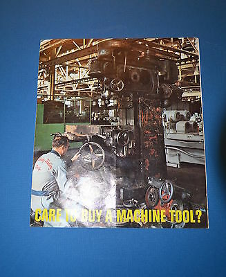 COLT INDUSTRIES MACHINERY Rebuilding Reconditioning Sale0s Brochure   (JRW #089)