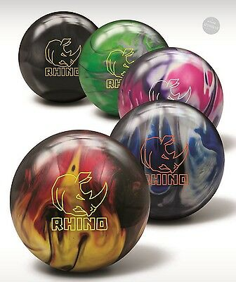 Brunswick ick Rhino Reactive Bowling Ball all colours Perfect For the Beginning