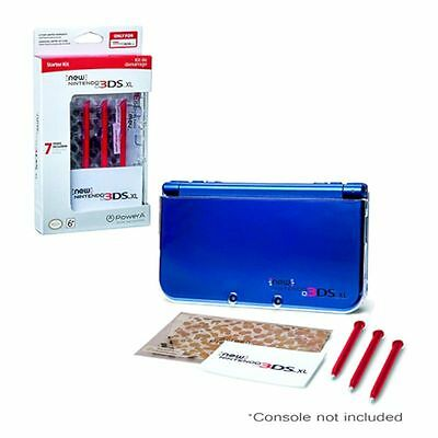 Official Nintendo NEW 3DS XL Licensed Accessory Starter Kit - Case Screen Stylus