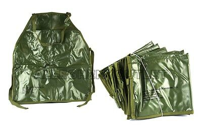 Lot of (5) US Military 5 Pocket Construction Workers Mechanics APRONS BIBS NEW
