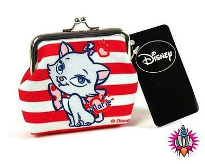 Disney Marie Aristocats Coin Clip Wallet Purse New With Tags
