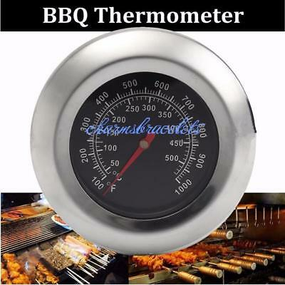 HOT Stainless Steel Oven Cooking Milk BBQ Meat Food Thermometer Gauge 100~700℉