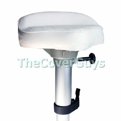 Boat Pedestal + Casting Seat Combo Plug-In Adjustable 370mm-560mm